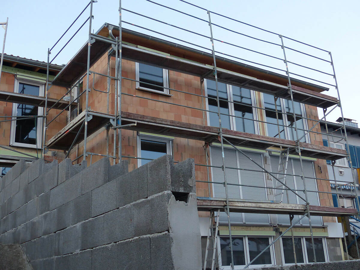 Building facelift, the house prices are going higher